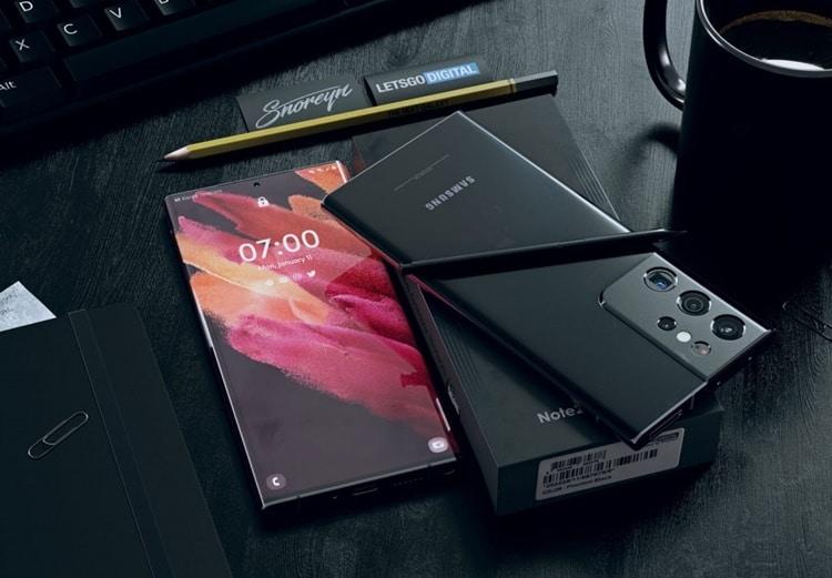 Chân dung Galaxy Note 21 Ultra 5G