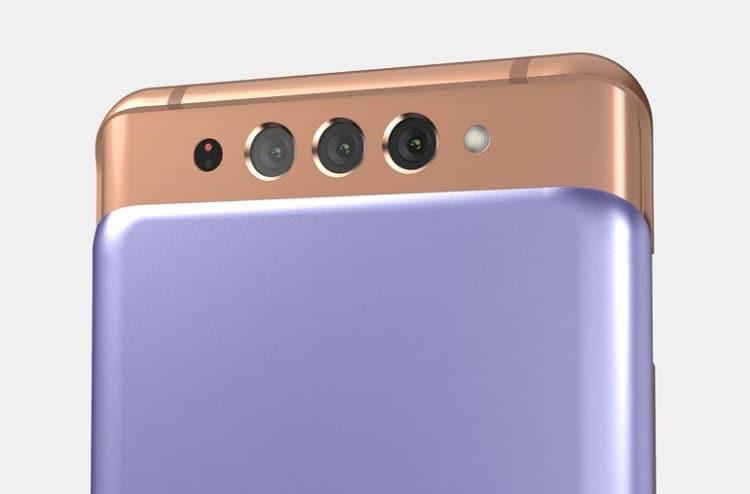 Đây có phải Galaxy A82 với thiết kế trượt hai chiều?
