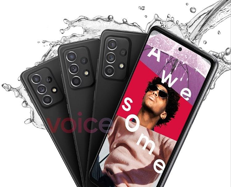 Galaxy A52 5G sẽ có khả năng chống bụi và nước IP67