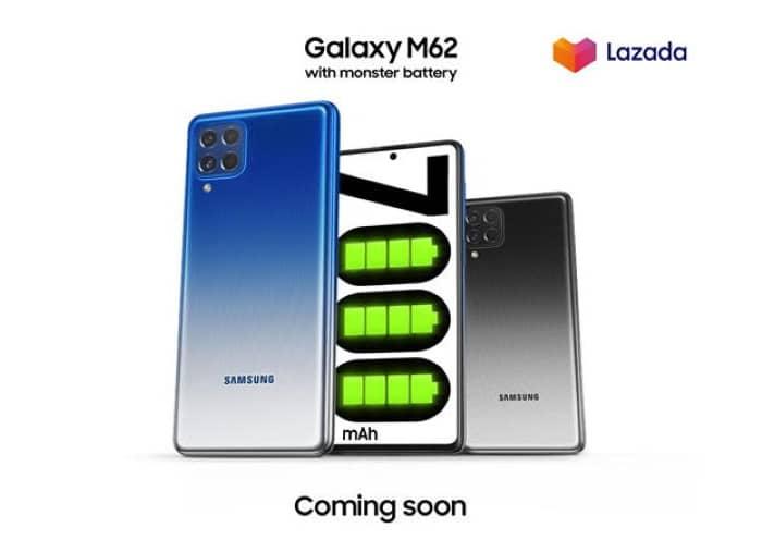 Galaxy M62