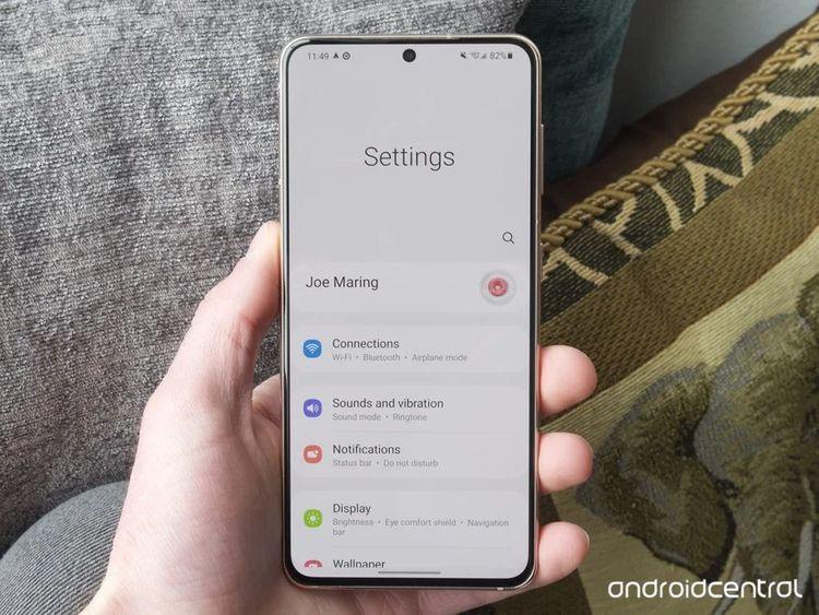 Giao diện One UI trên Galaxy S21