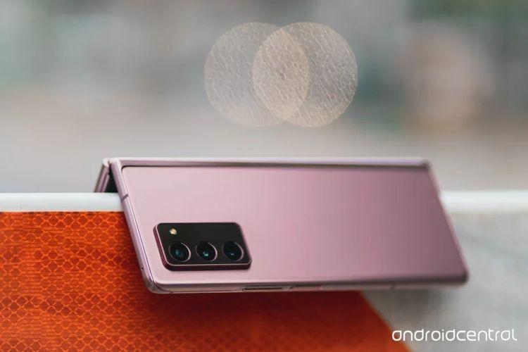 Samsung Galaxy Z Fold 2 màu đồng