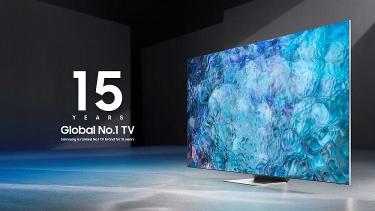 Samsung là thương hiệu TV số 1 thế giới