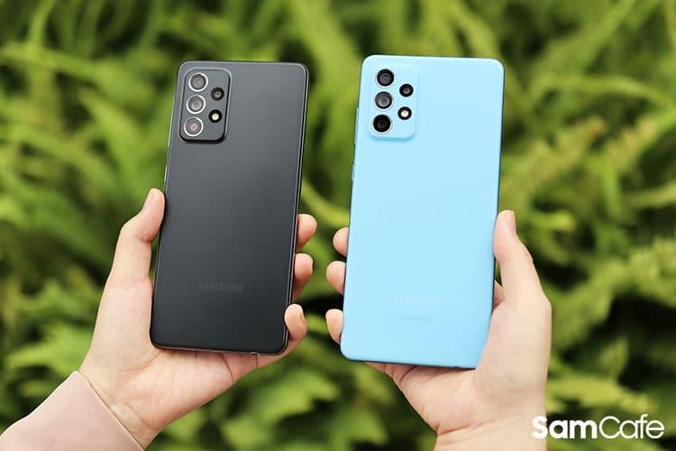 Galaxy A52 5G vs Galaxy A72